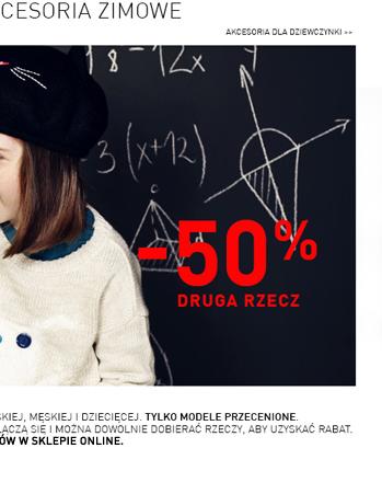 -50% druga rzecz